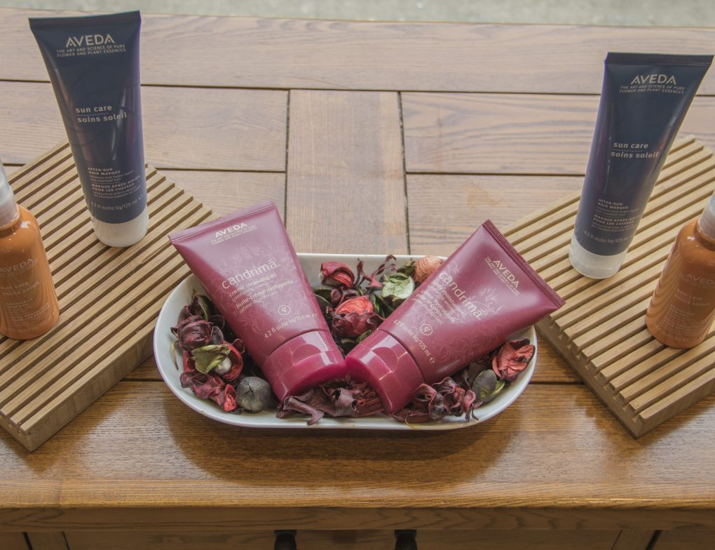 raw bella streatham aveda products