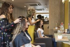 raw bella streatham Hair Styling with Massage